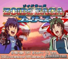 Zoids saga fuzors japan rom download for gameboy advance for Cool roms