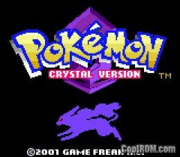 pokemon crystal rom download for gameboy color gbc coolrom com