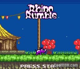 gbc rhino rumble cool rom
