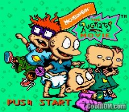Rugrats Movie Rom Download For Gameboy Color Gbc Coolromcom