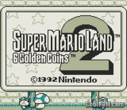 Super Mario Land 2 - 6 Golden Coins ROM Download for Gameboy