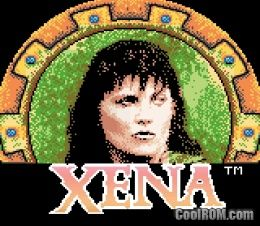 Xena warrior princess rom download for gameboy color Xena coloring book