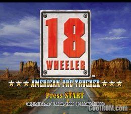 18 Wheeler - American Pro Trucker ROM (ISO) Download for