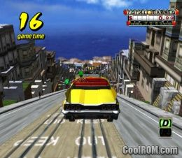 Crazy Taxi ROM (ISO) Download for Nintendo Gamecube - CoolROM com