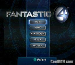 fantastic 4 gamecube