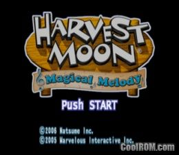 harvest moon magical melody guide