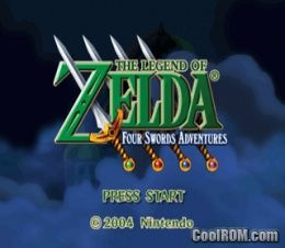 Legend of zelda the four swords adventures rom iso for Cool roms