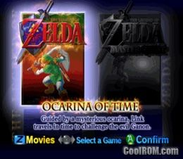 Legend of Zelda, The - Ocarina of Time - Master Quest ROM
