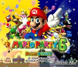 Mario Party 6 ROM (ISO) Download for Nintendo Gamecube