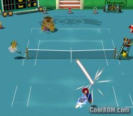 Mario Power Tennis (v1 01) ROM (ISO) Download for Nintendo