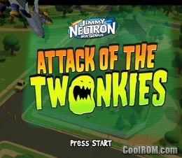 Nickelodeon Jimmy Neutron Boy Genius Attack Of The