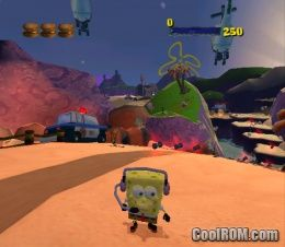 Game information and rom iso download page for nickelodeon spongebob