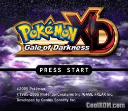 Pokemon XD - Gale of Darkness ROM (ISO) Download for