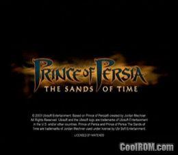 Prince Of Persia The Sands Of Time V1 01 Rom Iso Download For Nintendo Gamecube Coolrom Com