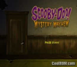 scooby doo mystery mayhem ps2 iso