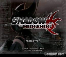 shadow the hedgehog pc скачать торрент