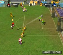 Super Mario Strikers ROM (ISO) Download for Nintendo