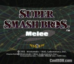 Super Smash Bros  Melee (v1 02) ROM (ISO) Download for