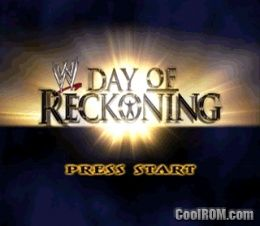 WWE Day of Reckoning ROM (ISO) Download for Nintendo
