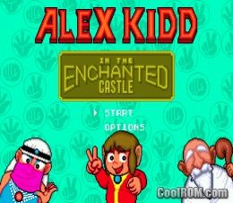 Alex Kidd in the Enchanted Castle ROM Download for Sega Genesis
