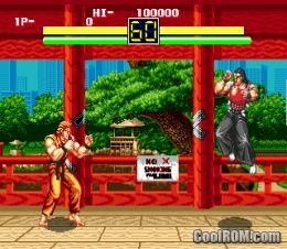 Art Of Fighting Rom Download For Sega Genesis Coolrom Com