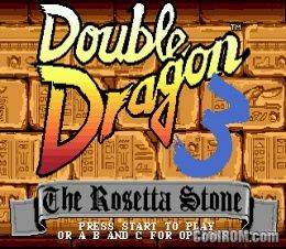 Double Dragon 3 The Arcade Game Rom Download For Sega Genesis