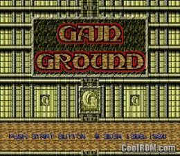 Gain Ground ROM Download for Sega Genesis