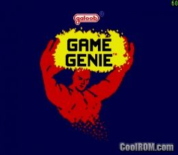 CoolROM.com's game information and ROM download page for Game Genie ...