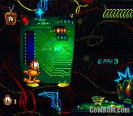 Garfield caught in the act rom download