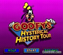 Sega Genesis Goofy S Hysterical History Tour