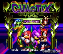 Knuckles Chaotix ROM Download for Sega Genesis - CoolROM com