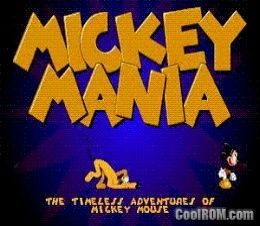 Mickey Mania - Timeless Adventures of Mickey Mouse ROM