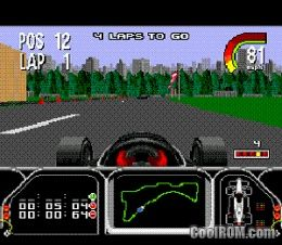 Newman Haas Indy Car Racing Rom Download For Sega Genesis