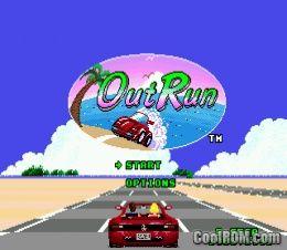 Outrun ROM Download for Sega Genesis - CoolROM com