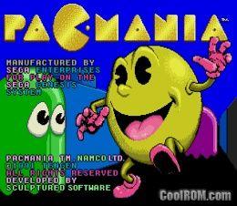pacmania sega genesis