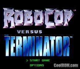Robocop Versus The Terminator Rom Download For Sega Genesis Coolrom Com