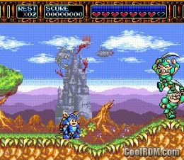 Rocket knight adventures rom download for sega genesis for Cool roms