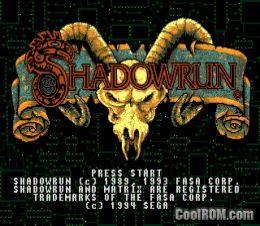 Shadow Run ROM Download for Sega Genesis - CoolROM com