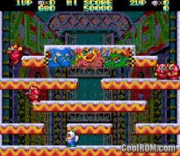Snow Bros  - Nick & Tom (Japan) ROM Download for Sega