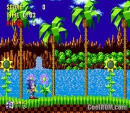 Sonic the Hedgehog ROM Download for Sega Genesis - CoolROM com