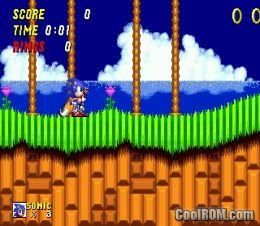 Sonic The Hedgehog 2 Rom Download For Sega Genesis Coolrom Com