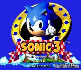 Sonic The Hedgehog 3 Rom Download For Sega Genesis Coolrom Com