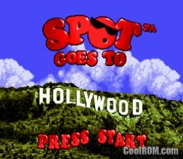 spot goes to hollywood rom