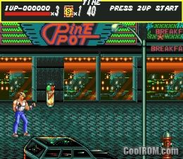 Streets of Rage ROM Download for Sega Genesis - CoolROM com