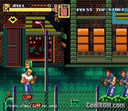 Streets of rage 2 rom download for sega genesis coolrom for Cool roms