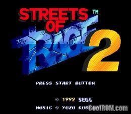Streets of Rage 2 ROM Download for Sega Genesis - CoolROM com