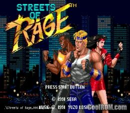 Streets of rage rom download for sega genesis for Cool roms