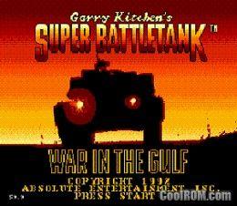 Super Battle Tank - War in the Gulf ROM Download for Sega