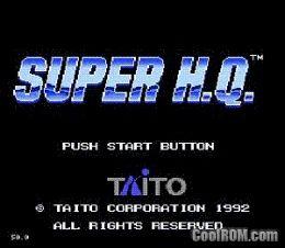 Super Hq Japan Rom Download For Sega Genesis Coolrom Com