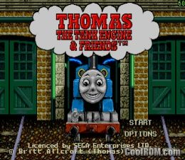 Thomas the Tank Engine & Friends ROM Download for Sega